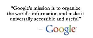 Google's Mission Statement